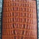 100% Genuine Tan Tail Crocodile Skin Wallet