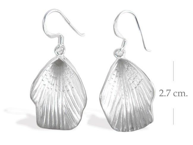 Modern Sterling Silver Dangle earrings