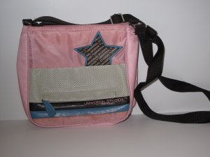 Universal Studios Pink, White and Brown Girls Purse