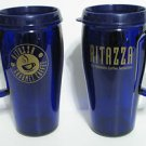 Ritazza Coffee Cobalt Blue Coffee Mugs Set of 2