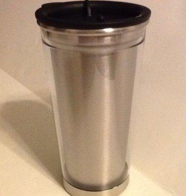 Beverage Travel Tumbler Mug Stainless Steel 12oz