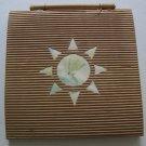 "Sun Outline Corrugated Cover Square Sketch Pad, 6 1/2"" x 6 1/2"""