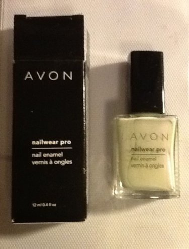 Avon Nailwear Pro Nail Enamel Illusion - Iridescent Light Grey Polish