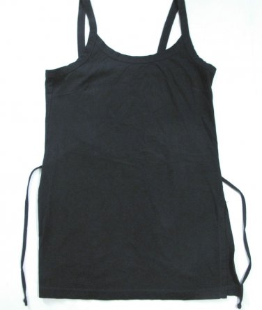 Women's Sleeveless Black Tunic Size S, 5/6