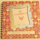 Hardcover Wirebound Girl's Journal Scrapbook Activity Book
