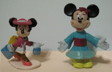 Minnie Mouse Figurines Set of 2
