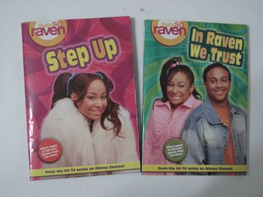 In Raven We Trust & Step Up Paperback Books from That's So Raven Collection