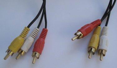 AV Audio/Video RCA Cable 11ft