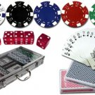 CASINO STYLE 300 PC POKER CHIP SET