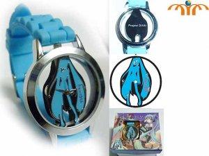 Miku Hatsune Wrist Watch - Blue!