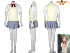Bleach Orihime Anime Cosplay Costume. XS - XXL!