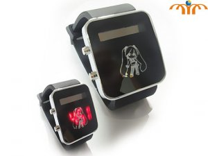 Hatsune Miku Wrist Watch in box - Black Strap!