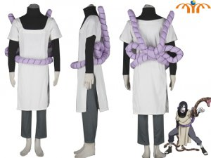 Naruto Anime Orojimaru Cosplay Costume, Size: XS - XXL!