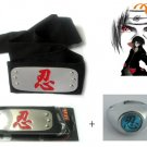 Naruto Anime Cosplay Headband And Ring 1!