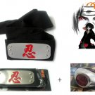 Naruto Anime Cosplay Headband And Ring 2!