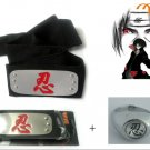 Naruto Anime Cosplay Headband And Ring 3!