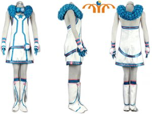 Miku Hatsune Cosplay Costume 4, Any Size!