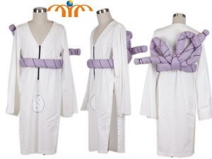 Naruto Kimimaro Cosplay Costume, Any Size!