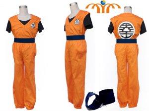 Dragon Ball Son Goku Cosplay Costume, Any Size!