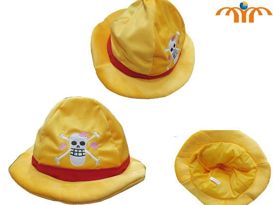 One Piece Anime Plush Hat!