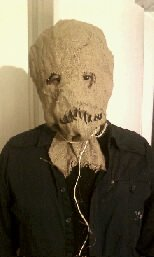 Batman Begins, The Dark Knight Scarecrow Mask, Hand Made!