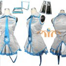 Miku Hatsune Cosplay Costume 9, Any Size!