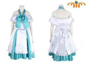 Miku Hatsune Cosplay Costume 13, Any Size!