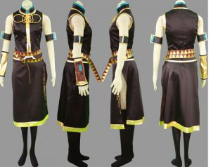 Miku Hatsune Cosplay Costume 26, Any Size!