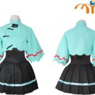 Miku Hatsune Vocaloid Cosplay Costume, Any Size!