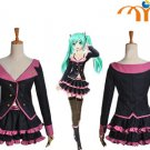 Miku Hatsune Vocaloid Anime Cosplay Costume, Any Size!