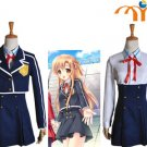 Sword Art Online Anime Uniform Cosplay Costume, Any Size!