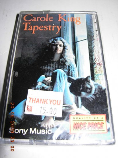 CAROLE KING - TAPESTRY (MALAYSIA CASSETTE)