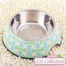 2 in 1 Dog Bowl - Size# S