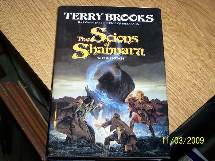 The Scions of Shannara by Terry Brooks Hardback