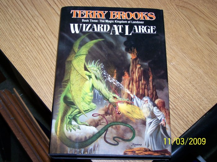 Wizard at Large by Terry Brooks Hardback