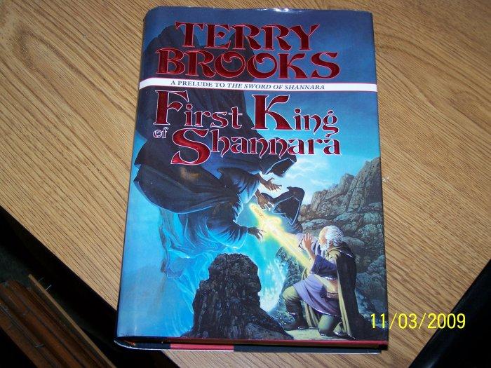 First Knight of Shannara by Terry Brooks hardback.