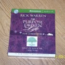 Rick Warren The Purpose Driven Life for Commuters Audioj CD New.