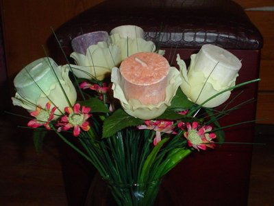 Votive Rose Bouquet