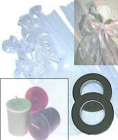Complete Votive Rose Kit   (Makes 6)