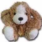 "100% Soy Wax Dipped ""Curly D"" Plush Dog"