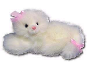 "100% Soy Wax Dipped ""Pinkie"" the Plush Kitty"