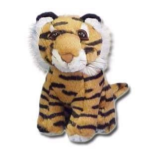 "100% Soy Wax Dipped ""Terri"" the Tiger"