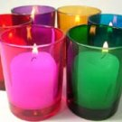 6 pack Color Mix Votive Holders