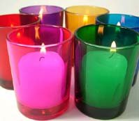 12 pack Color Mix Votive Holders