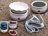 Ceramic Candle/Tart Warmer Combo