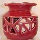 Red Ceramic Oil/Tart Warmer