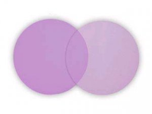 25 Lavender Tulle Circles