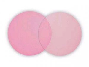 25 Pink Tulle Circles