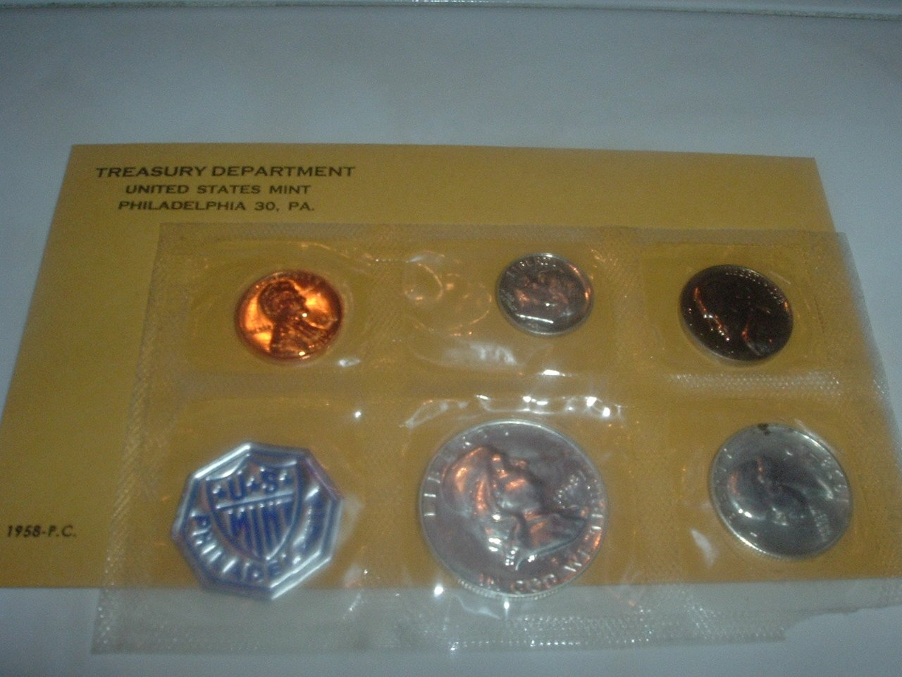 1958 Silver Proof Set