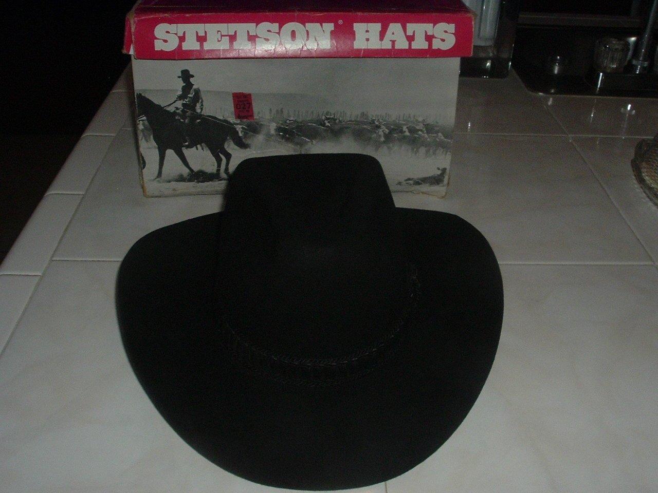 New Stetson Beaver Fur Hat